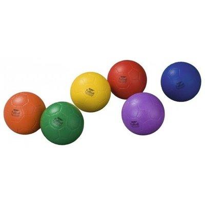 Speelbal 18 cm rood