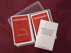 Vormingsspel - Reflectie kaartspel