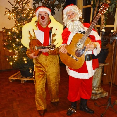 Kerst- en winteracts. Muziekoptredens op locatie