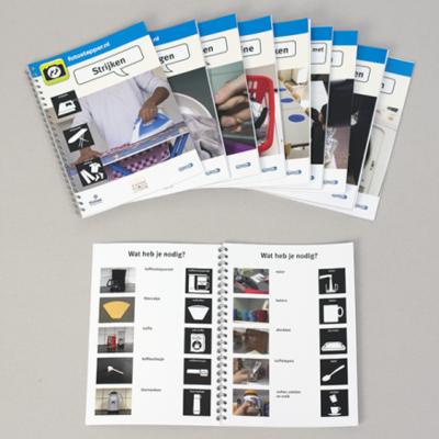 Fotostappers - visuele stappenplannen voor 10 huishoudelijke handelingen