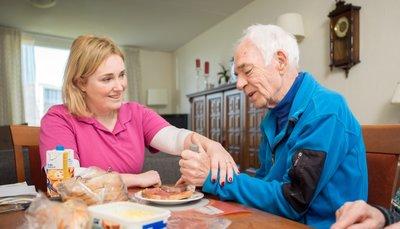 EDOMAH ergotherapeut - Vergroot (zelf)zorg vaardigheden thuis