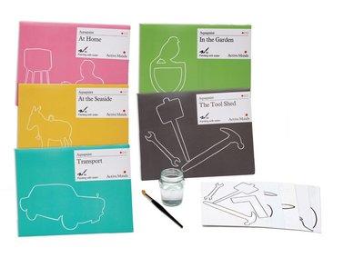 !WIN! Aquapaint - Schilderen met water - Gratis combinatiepakket-jarig
