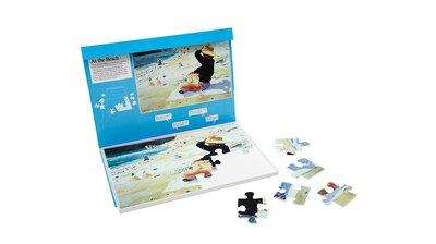 Puzzel - Op het strand - Jigsaw Puzzles