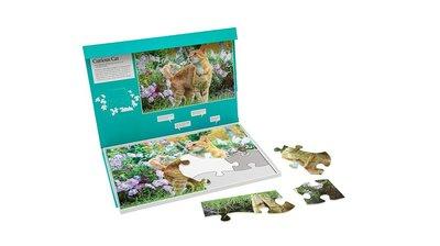 Puzzel - Nieuwsgierige kat - Jigsaw Puzzles