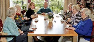 Gespreksgroepen voor mensen met dementie