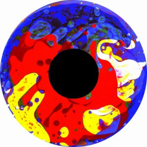 Aura LED-Projector - Magnetisch vloeistofwiel 8 - Colour