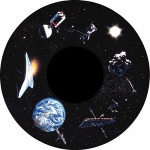 Aura LED-Projector - Magnetisch Effectwiel - Ruimtevaart