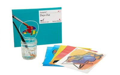 Aquapaint - Schilderen met water - Een dagje uit