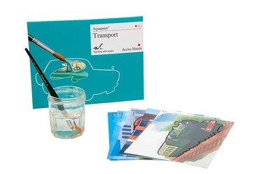 Aquapaint - Schilderen met water - Transport