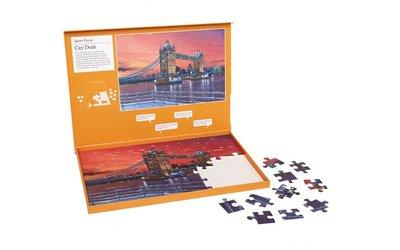 Puzzel - Stads zonsondergang - Jigsaw Puzzles
