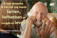 Hoera, je bent jarig. dr. Anneke van der Plaats over het belang van Dementie-winkel.nl