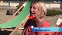 Ouderen chillen 'op het strand' bij WZC in Arnhem