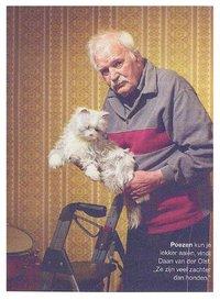 Steeds meer zorginstellingen maken gebruik van mechanische huisdieren.