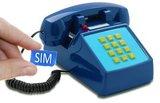 Seniorentelefoon met sim-kaart - Nostalgisch - Klassiek jaren '70 ontwerp - Opis (Druktoetsen)