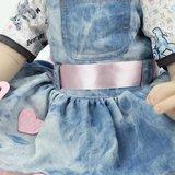 Reborn Babypop - Jeans jurk