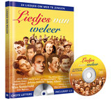 CD en Boek Liedjes van weleer_