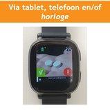 MyWepp Senior - Via horloge, tablet en/of telefoon