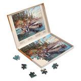 Puzzel Vakantie aan het meer