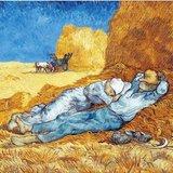 Puzzel - van Gogh middagdutje - 24 stukken