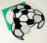 *Puzzel - Combipakket 3 puzzels - 3, 8 en 16 stukjes - Voetbal_