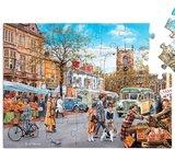 Puzzel Herfstmarkt