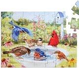 Puzzel Badende Vogels