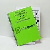 Grootletter woordzoeker - XL 3 sterren   Puzzelboek