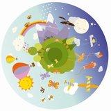 Space Projector + 1 Wiel gekleurde afbeelding - Lucht
