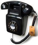 Seniorentelefoon - Klassiek jaren '70 ontwerp - GPO 746 Muur (Druktoetsen)_