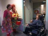 Bezoek van VisiteClowns_