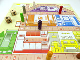 Huis, Tuin en Keukenspel - spelbord_