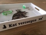 Voelbak - Kat verzorgen_