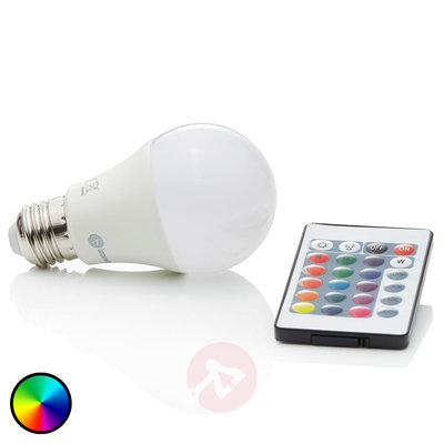 Snoezel lamp - met veranderende kleuren en afstandsbediening