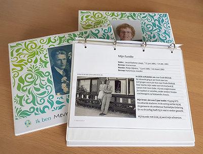 IK-BEN-boek | Iedereen heeft een verhaal, vergeet dat niet | m.b.v. vormgever