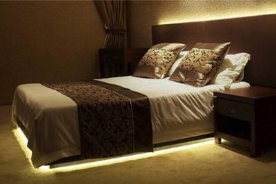 Bed- en vloerverlichting met bewegingssensor