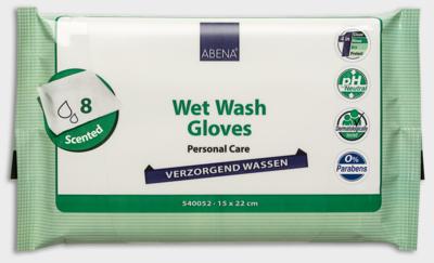 Verzorgend Wassen - Washandjes - Geparfumeerd