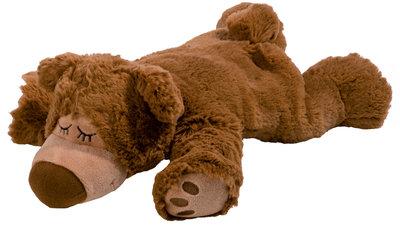 Warmte dier - Sleepy Bear bruin (uitneembare vulling)