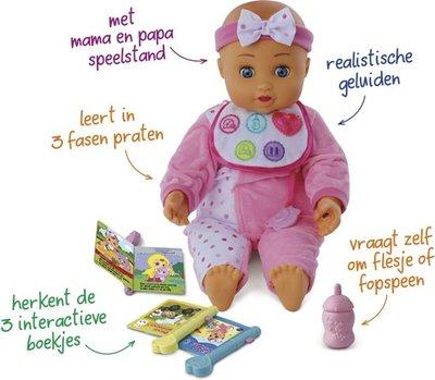 Babypop - interactief die praat, speelt en leert
