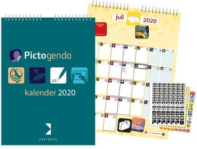 Pictogenda kalender 2020