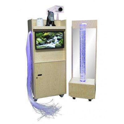Snoezelkar met LED scherm