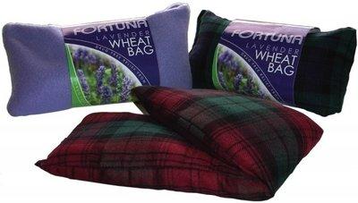 Wheat Bag Lavendel Fleece - schotse ruit