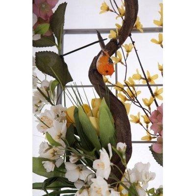 Decoratieraster thema Vogels - 50 x 180 cm incl. bevestigingsmateriaal