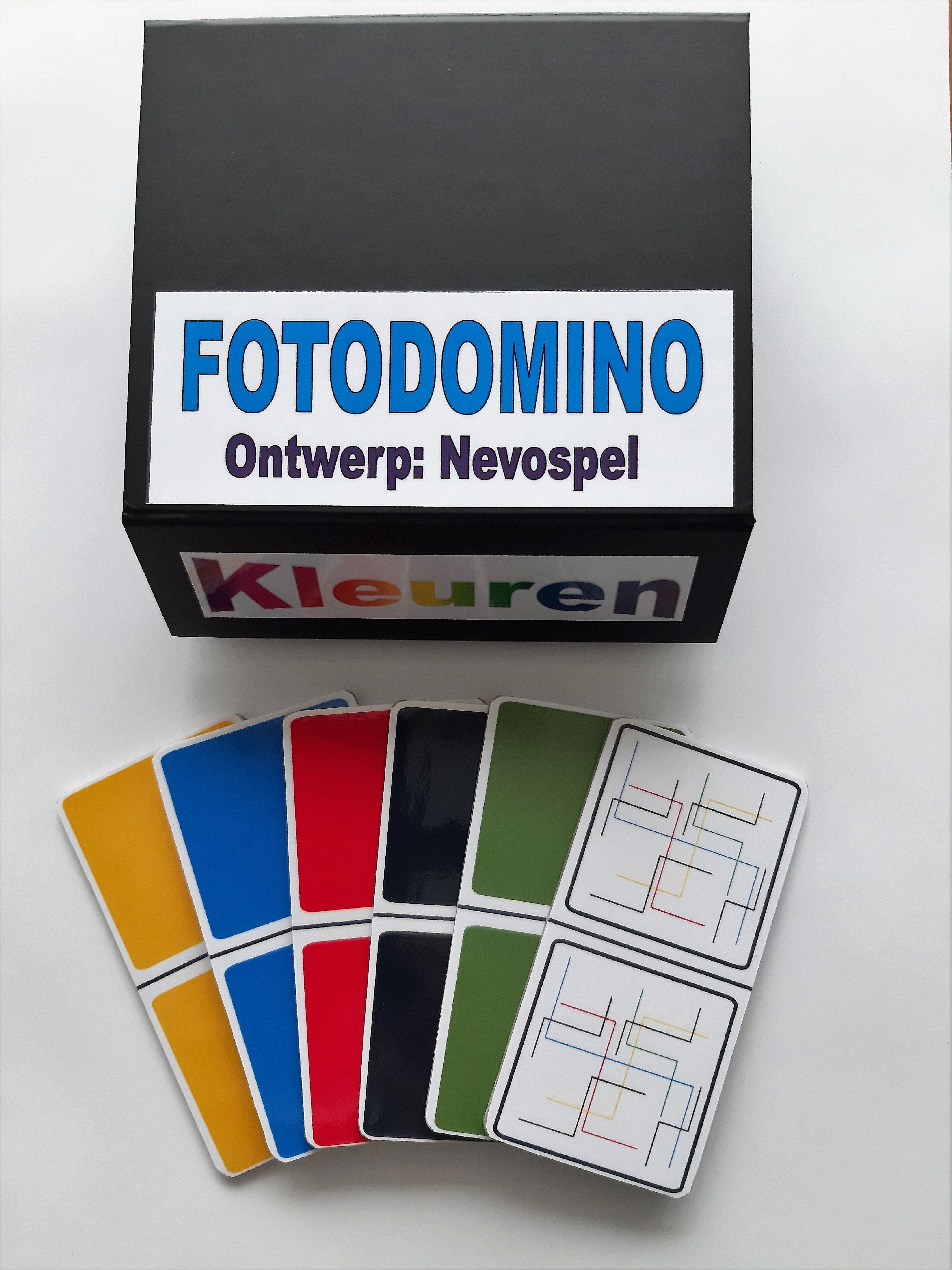 Foto Domino - Kleuren
