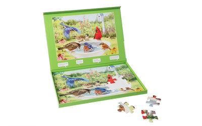 Puzzel - Badende Vogels - Jigsaw Puzzles