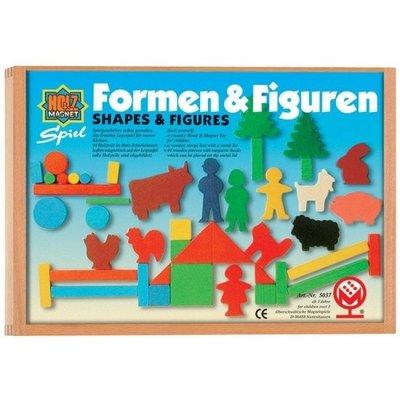 Magnetische vormen en figuren, 44 delen