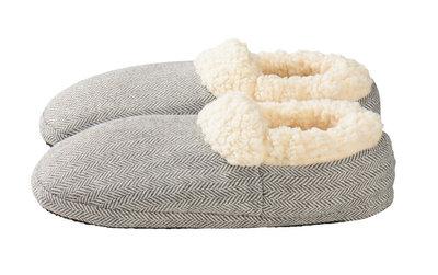 Slippies Comfort - mt 37-41 grijs
