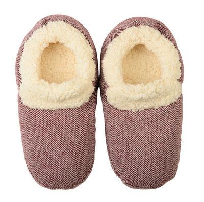 Slippies Comfort - mt 37-41 rood
