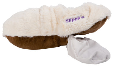 Slippies mt 36-40 creme plushe