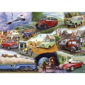 Puzzel - 24 extra grote puzzelstukken - Transport