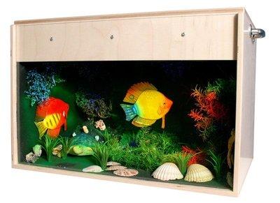 Aquarium met Blacklight (70 x 40 x 40 cm)
